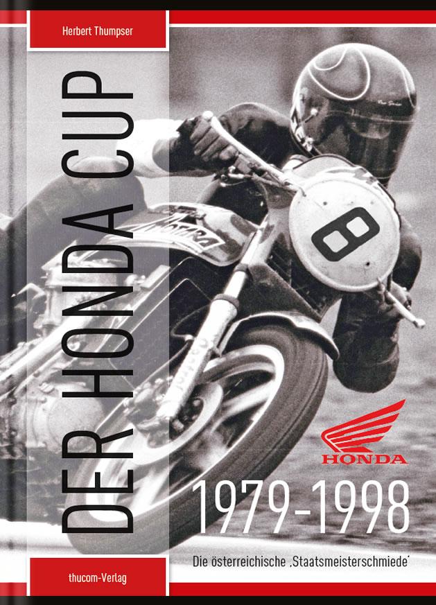 "Cover Buch ""Der Honda Cup"""