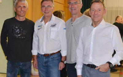 Honda Cup-Legenden Andreas Preining, Beppo Hutter und Bertl Neumair