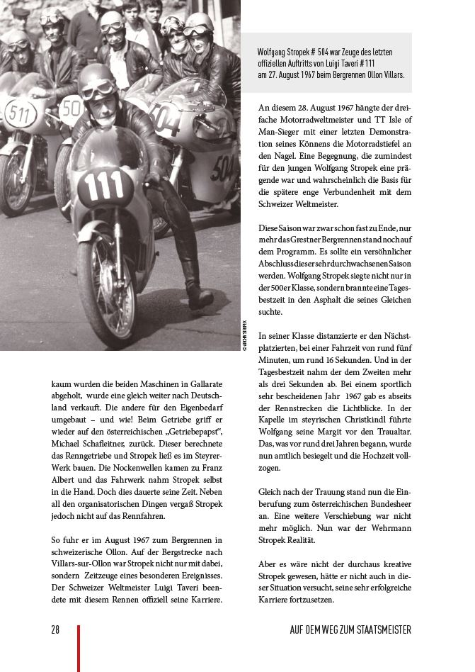 Auszug aus der Biographie Wolfgang Stropek, Seite 28