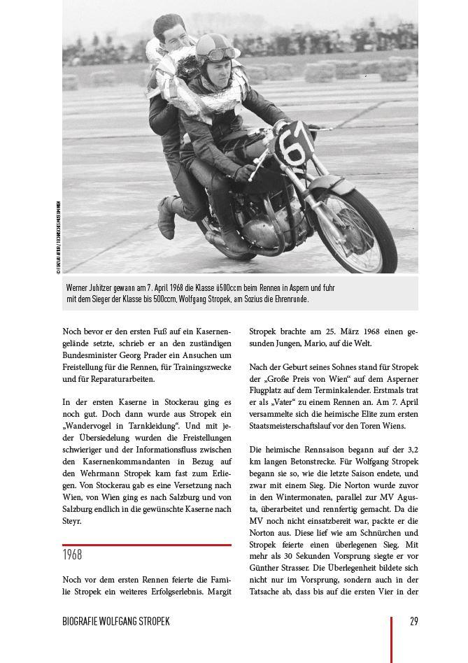 Auszug aus der Biographie Wolfgang Stropek, Seite 29