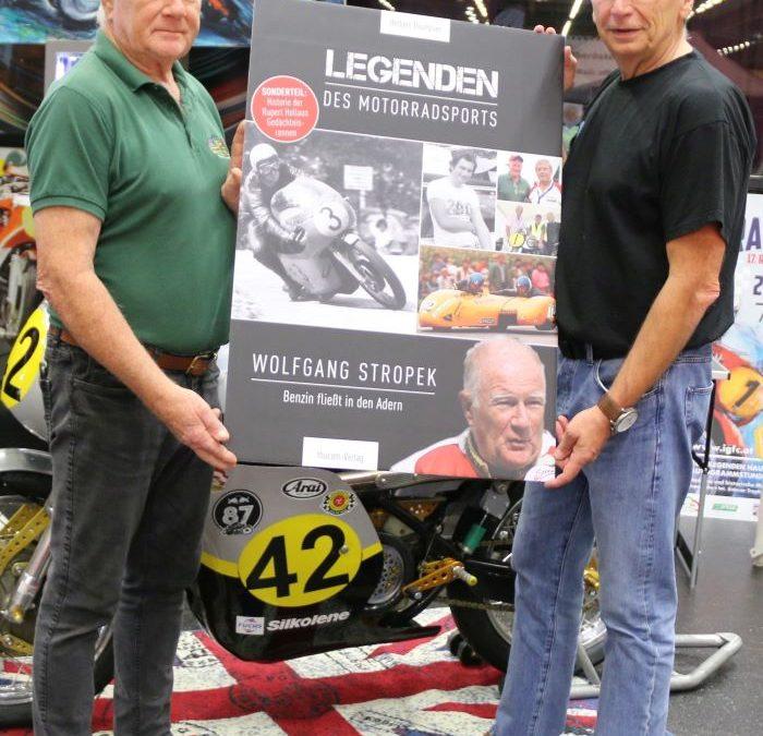 Neues Buch: Die Biografie von Wolfgang Stropek – Benzin fließt in den Adern