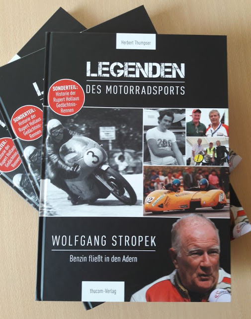Bücher Legenden des Motorradsports - Wolfgang Stropek