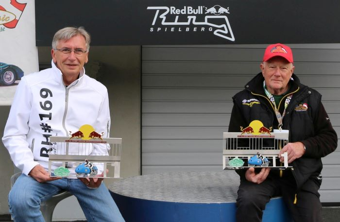 Herbert Thumpser traf Wolfgang Stropek am Red Bull Ring CO Alfred Pech