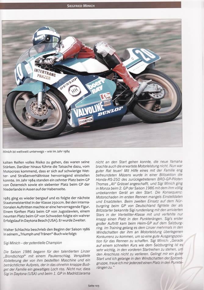 Buch Österreichische Legenden in Schräglage - Seite 103