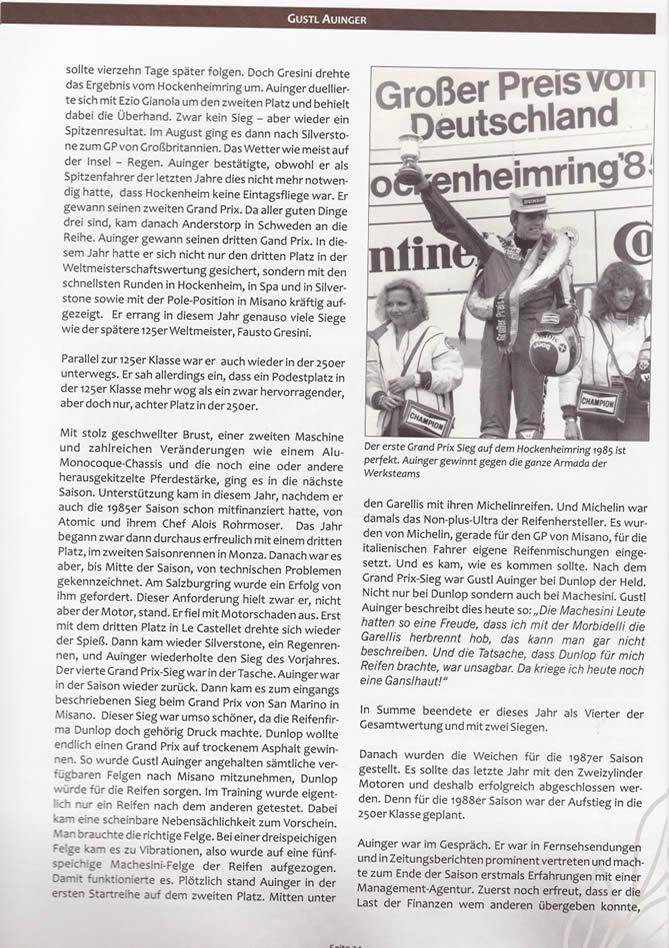 Buch Österreichische Legenden in Schräglage - Auszug Seite 20