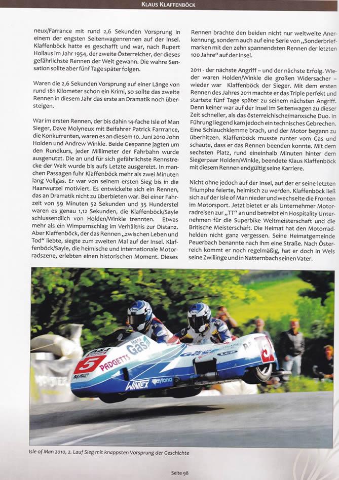 Buch Österreichische Legenden in Schräglage - Auszug Seite 98