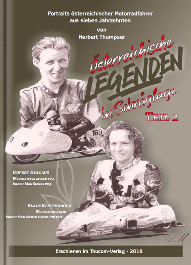 Buch Österreichische Legenden in Schräglage - Cover