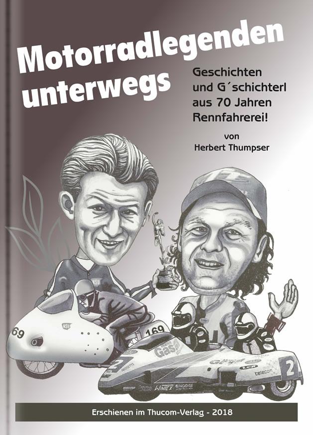Motorradlegenden Unterwegs - Cover